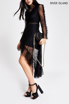 River Island Black Andreas Going Out Pack Dress