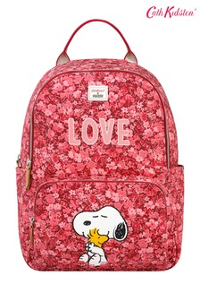 Cath Kidston® Snoopy Love Paper Ditsy Pocket Backpack