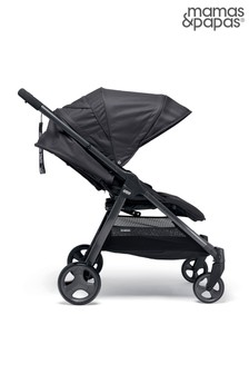 Mamas & Papas Armadillo Black Jack Twin Push Chair