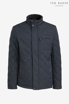 Ted Baker Navy Quilted Jacket