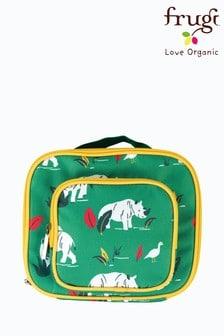 Frugi Insulated Rhino Print Lunch Bag