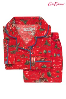 Красная детская текстильная пижама с принтом ковбоев Cath Kidston