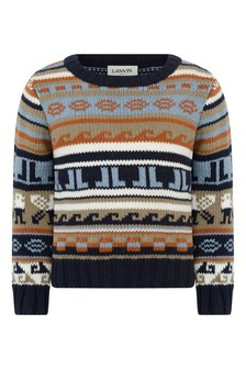 Boys Cotton & Cashmere Knitted Sweater