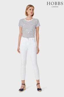 Hobbs White Marianne 7 8 Jeans