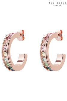 Ted Baker Reanna Small Crystal Hoop Earrings