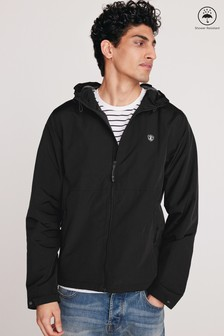 Shower Resistant Jacket With Fleece Lining