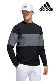adidas Golf Lightweight Hi Stretch 1/4 Zip Top