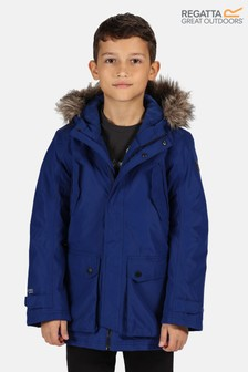 Regatta Blue Pazel Waterproof Parka