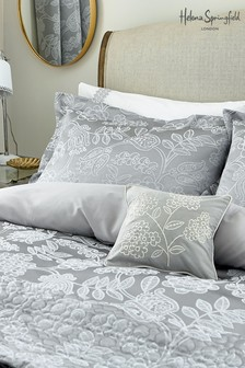 Helena Springfield Letty Jacquard Floral Oxford Pillowcase