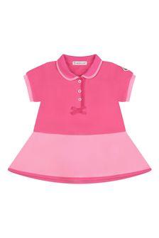 Moncler Enfant Baby Girls Cotton Dress