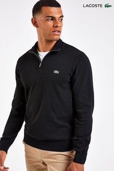Lacoste® Cotton Quarter Zip Jumper