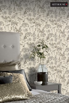 Buy Diy Floral Floral Homeware Yellow Yellow Wallpaper Wallpaper