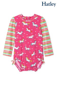 Hatley Prancing Unicorns Rashguard Swimsuit