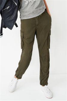 Tencel® Taper Trousers