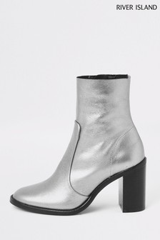 ae3c4157c1f River Island Boots | Womens Heeled and Flat Shoes | Next UK