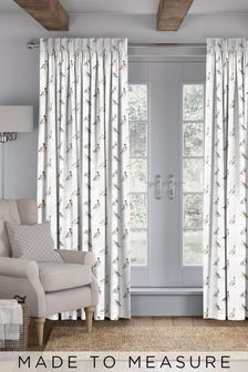 Wildlife Game Bird Cream Made To Measure Curtains