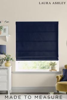 Laura Ashley Swanson Midnight Made to Measure Roman Blind