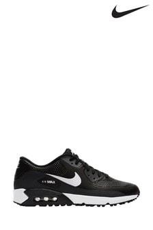 Nike Golf Black/White Air Max 90 Trainers