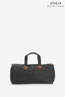 Polo Ralph Lauren Black Nylon Duffle Bag