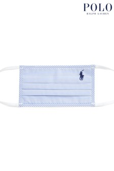 Polo Ralph Lauren Striped Oxford Face Covering