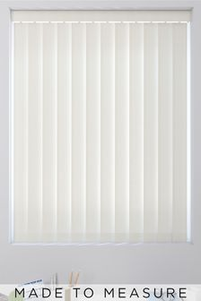 Herringbone Cream Made To Measure Vertical Blind