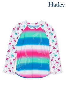 Hatley Fancy Flamingos Long Sleeve Rashguard