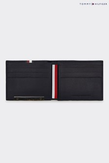 Tommy Hilfiger Blue Corporate Plaque Stripe Mini Wallet