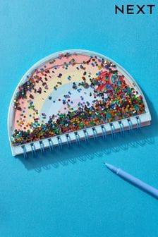 Rainbow Shaker Notebook
