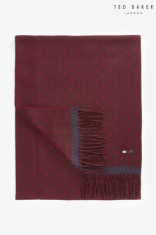Ted Baker Dark Red Spot Scarf