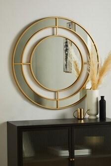 Large Statement Frame Mirror