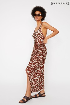 Warehouse Animal Zebra Wrap Maxi Beach Sarong