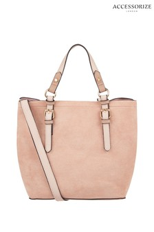 Accessorize Nude Betty Handheld Bag