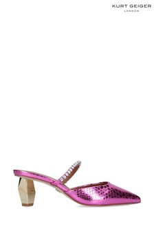 Kurt Geiger London Dania 55 Pink Heeled Shoes