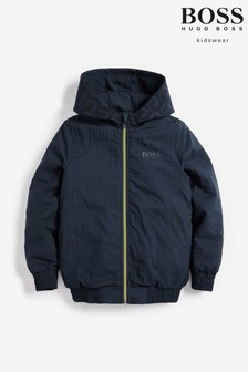 BOSS Blue Half Zip Jacket