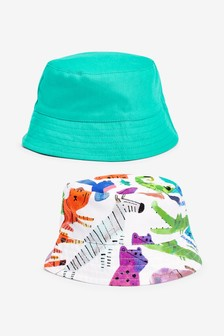 2 Pack Character Hats (0mths-2yrs)