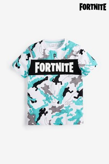 Fortnite Camouflage T-Shirt (10-16yrs)