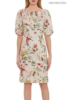 Gina Bacconi Matia Floral Scuba Dress
