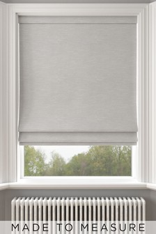 Jameson Dove Grey Made To Measure Roman Blind