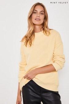 Mint Velvet Yellow Sweater