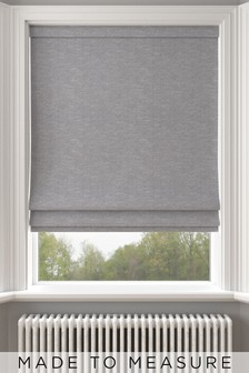 Jameson Slate Grey Made To Measure Roman Blind
