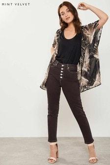 Mint Velvet Joliet Contrast Stitch Jean