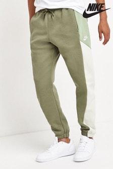 Спортивные брюки в стиле колор блок Nike