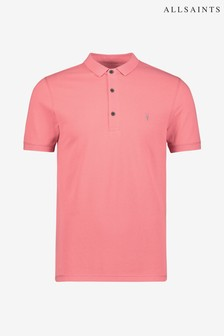 AllSaints Pink Reform Polo