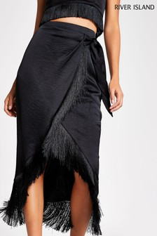 River Island Black Going Out Pack Amalfi Skirt