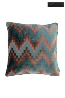 Broadway Ombre Chevron Cushion by Riva Home