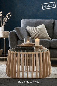 Ribbed Coffee Table