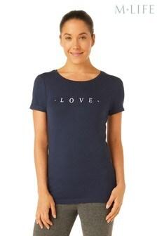 M.Life Love Crew Neck T-Shirt