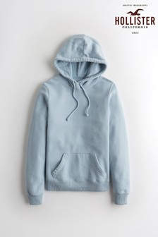 Hollister Blue Core Icon Hoody