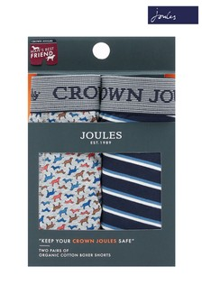 Joules Crown Joules Underwear Two Pack