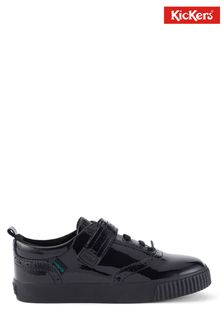 Kickers Junior Tovni Brogue Patent Leather Shoes